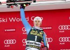 Alpejski P�. Viktoria Rebensburg wygra�a slalom gigant w Mariborze