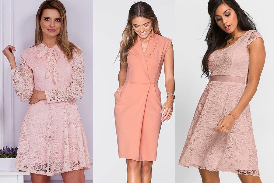 c79eb3bda6 Sukienki w kolorze pudrowego różu - modele idealne na wesele do 150 ...