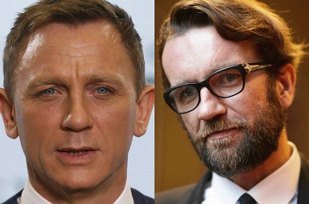 Tomasz Kot i Daniel Craig