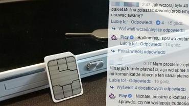 Powa�na awaria sieci Play: wolny internet, nie dzia�aj� pakiety danych, brak pieni�dzy na kontach