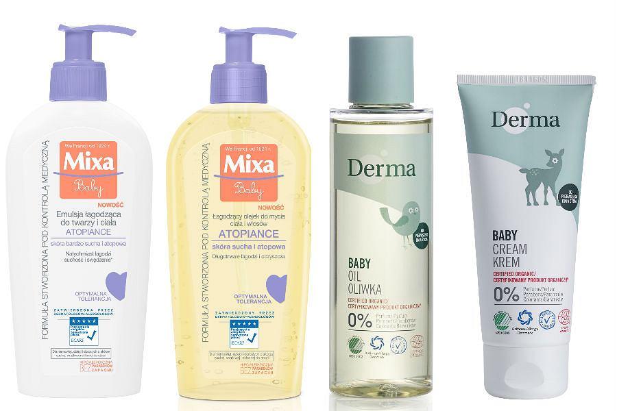 Nowości od Mixa i Derma to kosmetyki przeznaczone do pielęgnacji delikatnej skóry dzieci