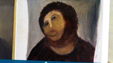 Fresk z wizerunkiem Jezusa Chrystusa