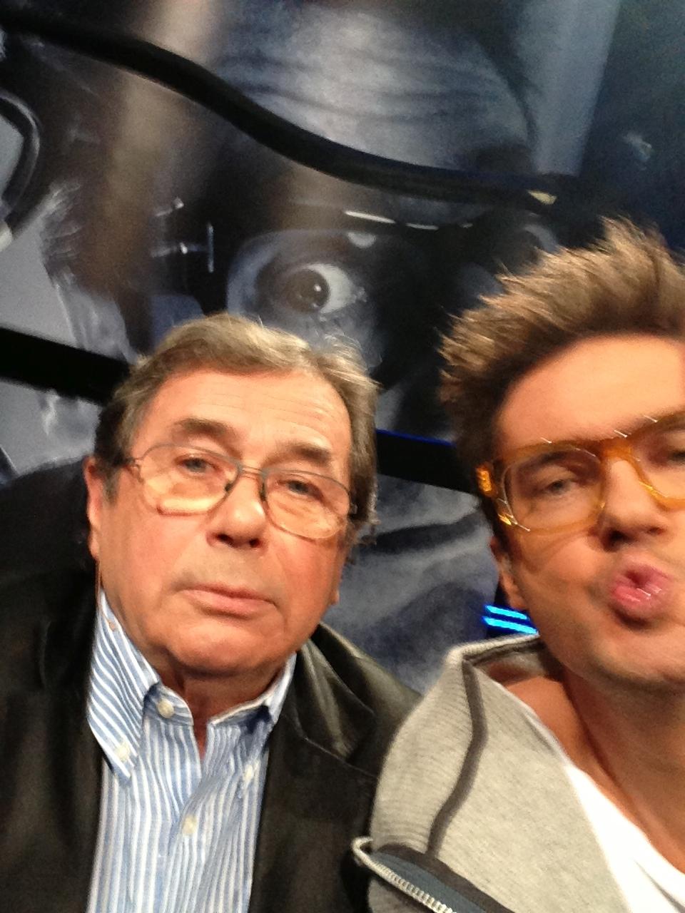 Selfie z Januszem Gajosem (fot. Kuba Wojewódzki)