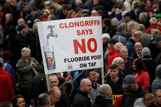 Irlandia chce wprowadzi� op�aty za wod�. Protesty na ulicach