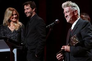 Keanu Reeves, Gra�yna Torbicka, David Lynch (Cameraimgae 2012).