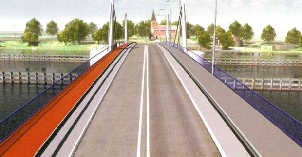Projekt mostu w Sobieszewie