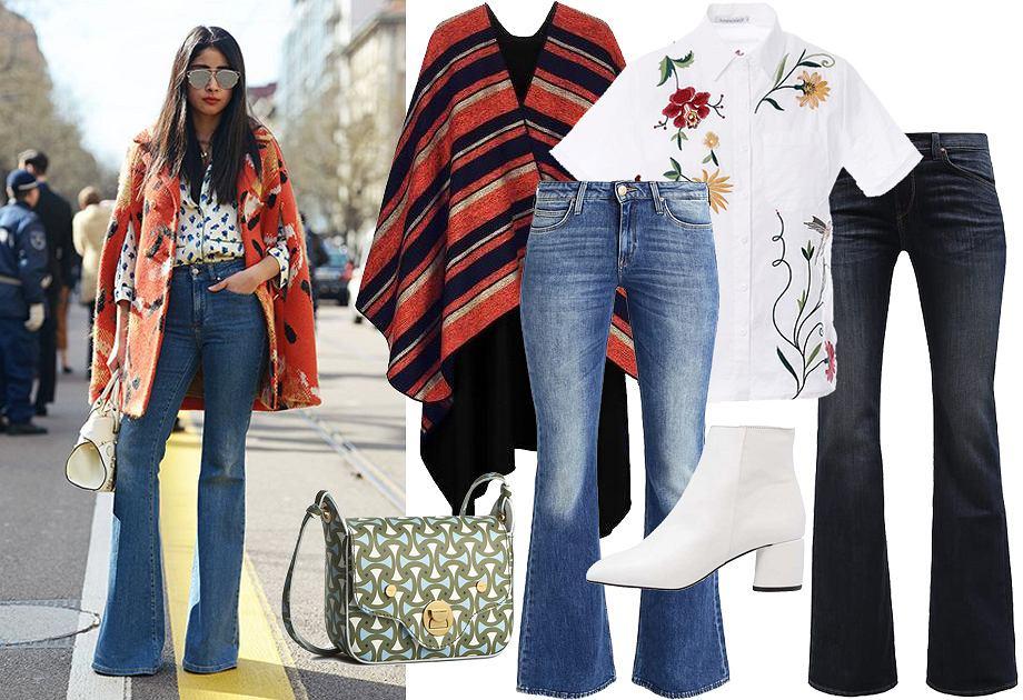 08ba34e0ec7ed Spodnie dzwony - wielki powrót trendu sprzed lat! Zobacz, jak nosić ...