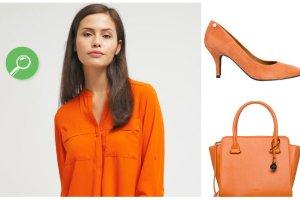 Pomarańczowe ubrania i dodatki - zobacz przegląd