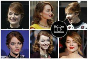 """Emma Stone promuje film """"Niesamowity Spider-Man 2"""" i sama wygl�da niesamowicie! Zobaczcie jej fryzury i makija�e z czerwonego dywanu"""