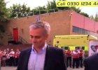 Mourinho pierwszy raz jako trener na Old Trafford. TAK został przywitany - szaleństwo! [WIDEO]