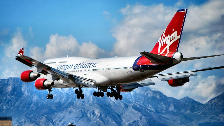 Virgin to pierwsza europejska linia lotnicza oferująca dostęp do internetu Wi-Fi podczas każdego lotu