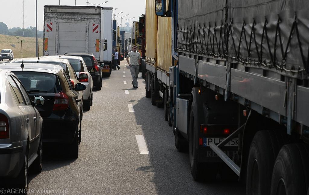 Wypadek na A2 w Luboniu koło Poznania (zdj. ilustracyjne)