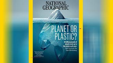Okładka 'National Geographic'