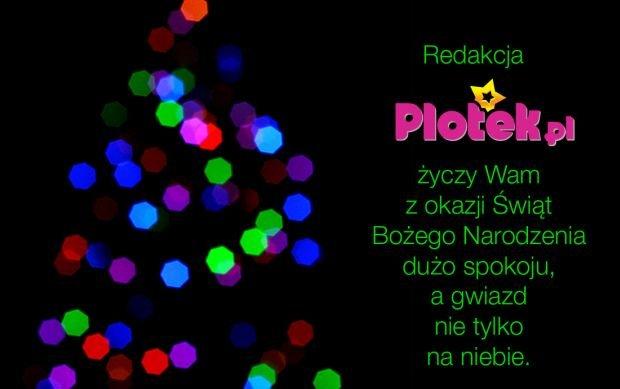 Redakcja Plotek.pl �yczy Wam Weso�ych �wi�t!