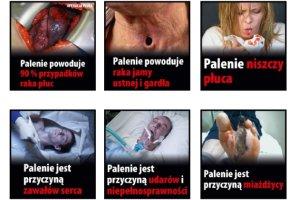 Tak od przysz�ego roku maj� wygl�da� opakowania papieros�w - KE zatwierdzi�a drastyczne zdj�cia