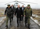 W�adimir Putin w towarzystwie ministra obrony Siergieja Szojgu obserwowa� ostatni� faz� manewr�w wojskowych w obwodzie Kaliningradzkim