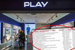 Dane kilkunastu tysięcy klientów sieci Play trafiły do sieci. Działanie z pobudek osobistych [AKTUALIZACJA]