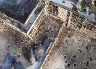 """Nagranie z drona: Lotnisko w Doniecku w ruinie. Dachy jak sito. """"Trwa zacięta walka"""""""