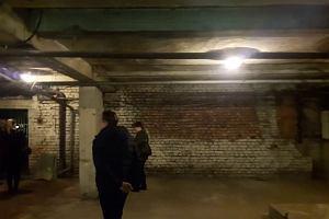 Piwnica pod dworcem Olsztyn Główny