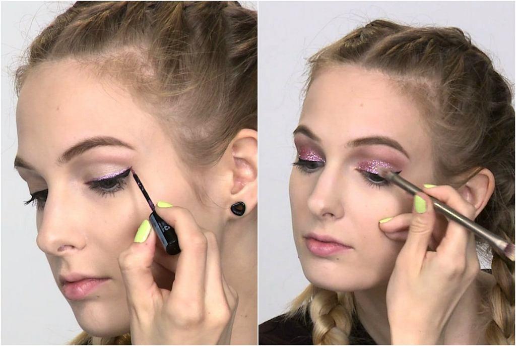 Modny Makijaż Sylwestrowy