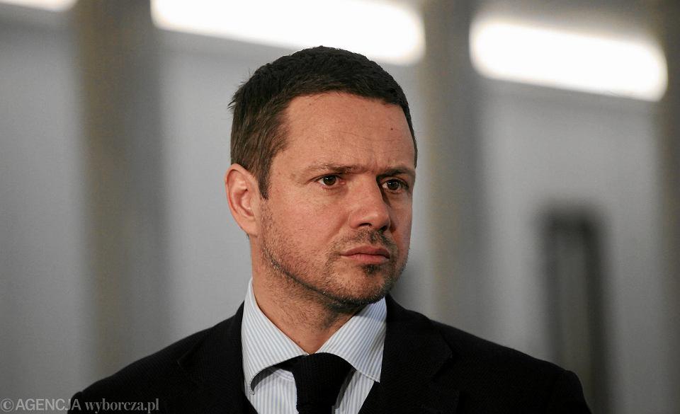 Rafał Trzaskowski, kandydat PO na prezydenta Warszawy