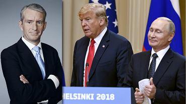 Nic Robertson   Donald Trump i Władimir Putin