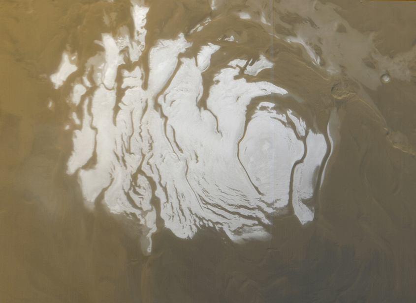 Naukowcy odkryli wodę na Marsie