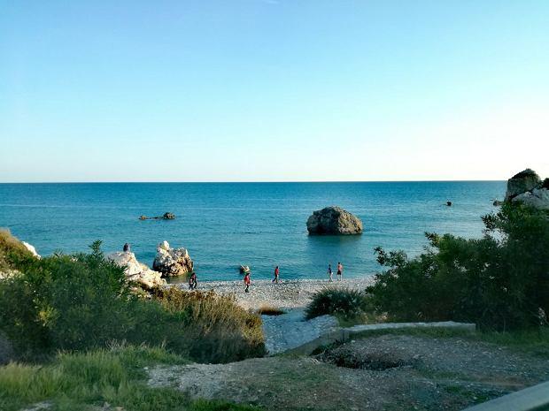 Cypr, Petra tou Romiou - tu narodziła się Afrodyta
