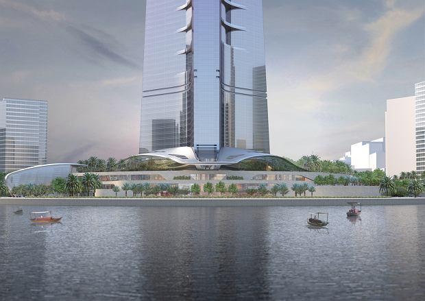 Wizualizacja Jeddah Tower