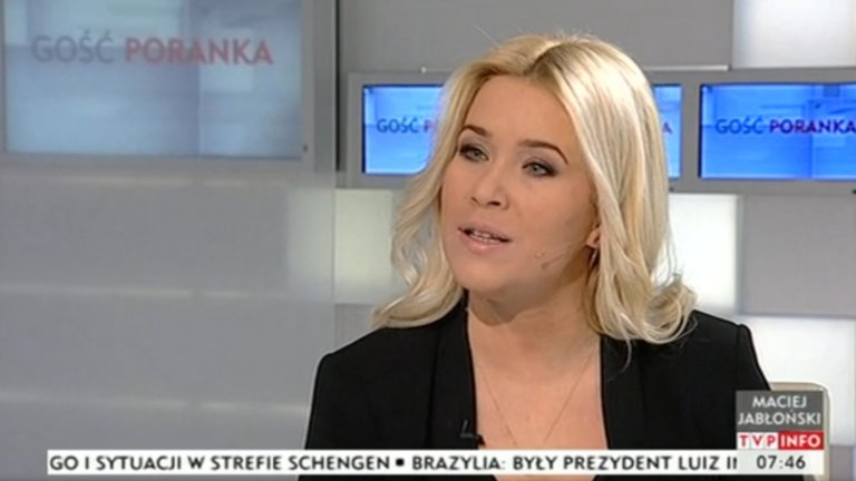Kamila Biedrzycka-Osica prowadziła program