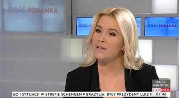 Kamila Biedrzycka-Osica prowadzi�a program