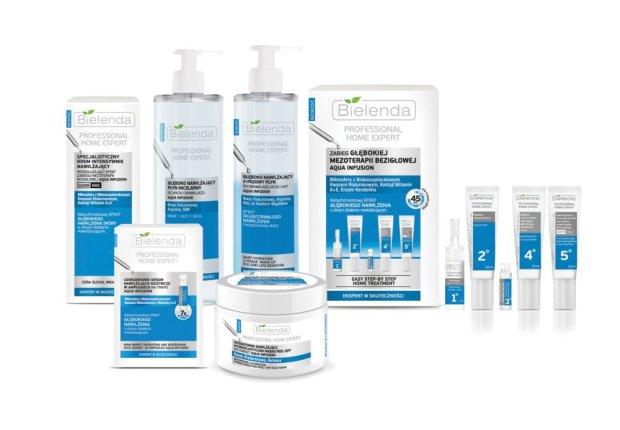 Bielenda Professional Home Expert Aqua Infusion -  daj sk�rze pi�!