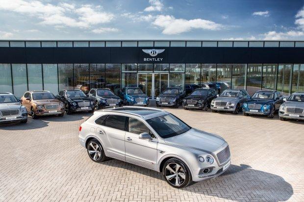 Bentley Bentayga First Edition Collection