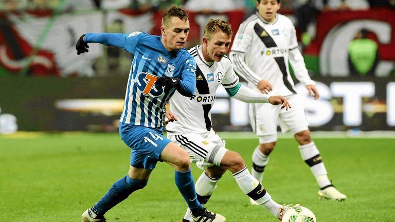 Legia Warszawa - Lech Poznań 2:1. Maciej Gajos i Jakub Rzeźniczak