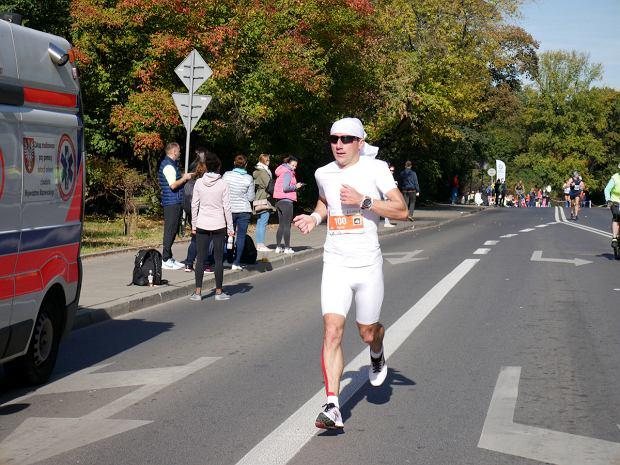 Marcin Soszka. 40. PZU Maraton Warszawski 2018