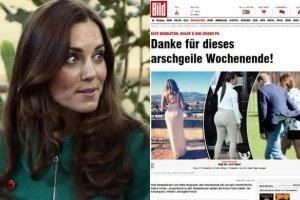 """""""Bild"""" pokaza� zdj�cia nagiej pupy ksi�nej Kate i por�wnuje j� do Kardashianek. Szykuje si� mi�dzynarodowy skandal"""