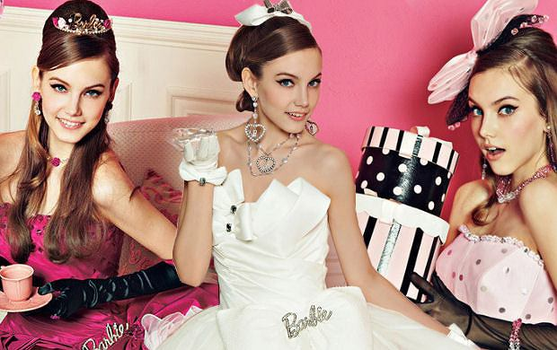 Suknie �lubne Barbie - to mog�o si� zdarzy� tylko w Japonii!