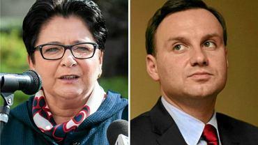 Teresa Piotrowska, minister spraw wewnętrznych, została zaproszona na spotkanie z prezydentem Dudą