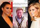Cheryl Cole, miliarder Richard Branson, Kim Kardashian. Znani gratuluj� Kate i Williamowi