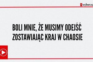 Boli mnie, że musimy odejść zostawiając kraj w chaosie. Wanda Traczyk-Stawska o proteście przed Sejmem