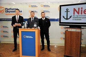Posłowie PO: Zakaz w handlu w niedzielę uderzy w szczeciński port