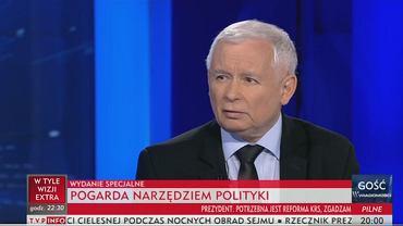 Jarosław Kaczyński był 'Gościem Wiadomości'