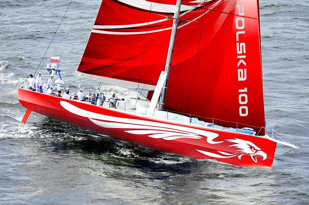 Jacht 'Polska100', wizualizacja