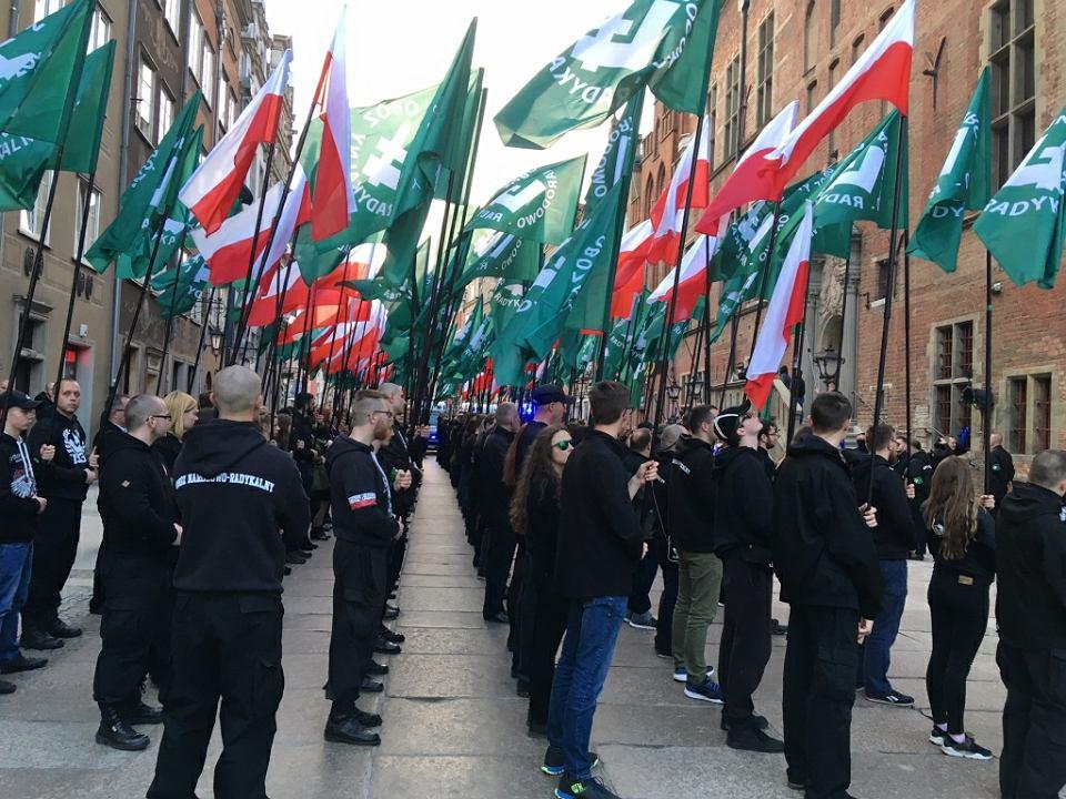 Marsz ONR w Gdańsku