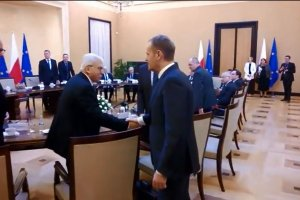 Spotkanie stronnictw politycznych ws. Ukrainy w Kancelarii Premiera