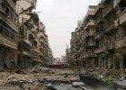 Syryjskie miasto Salah Al-Din zniszczone podczas ostrzału