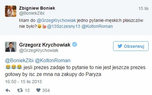 Zbigniew Boniek, Grzegorz Krychowiak