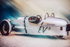 Goodwood 2015 | Morgan EV3 | Emocje pod pr�dem