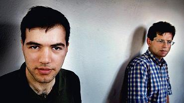 Tino Sanandaji w towarzystwie prof. Magnusa Henreksona
