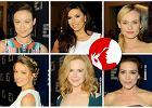 Gala Foreign Press: Najpiękniejsze fryzury i makijaże gwiazd